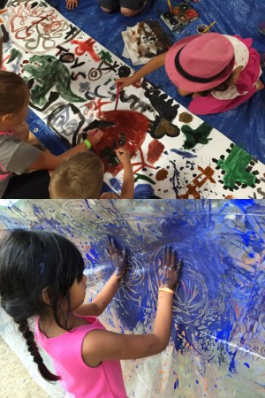 Make, move, and get messy at Camp Create!