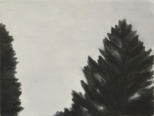 Above: Nick Ostoff, Untitled (Tops of Trees), 2001 (Acrylic on canvas) Anonymous gift, 2011, Macdonald Stewart Art Centre Collection at the Art Gallery of Guelph